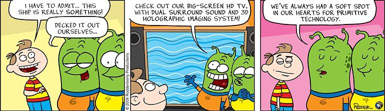 Strip 8: Big Screen