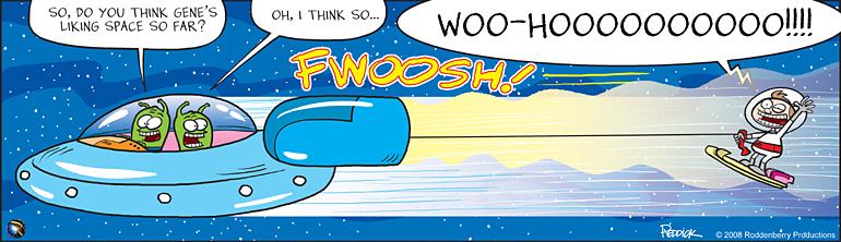 Strip 21: Space Kid
