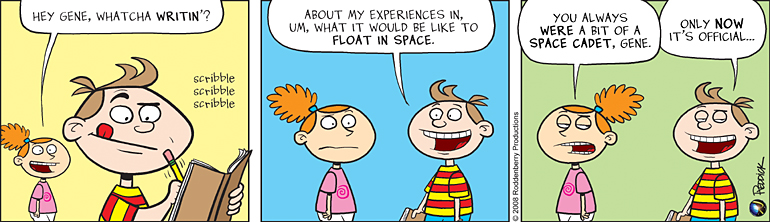 Strip 25: Space Cadet