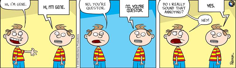 Strip 29: Gene & Questor
