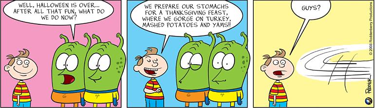 Strip 46: Thanksgiving