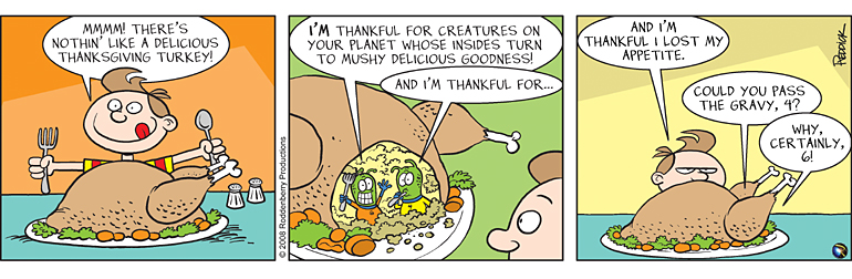 Strip 52: Turkey Day