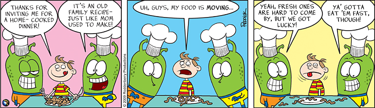 Strip 80: Home-Cooked Meal