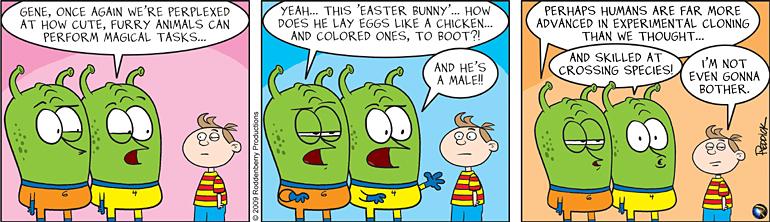 Strip 88: The Easter Egg Mystery