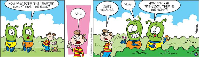 Strip 89: Easter Egg Hunt