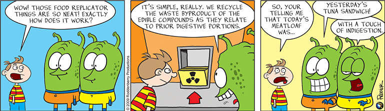 Strip 97: Recycling
