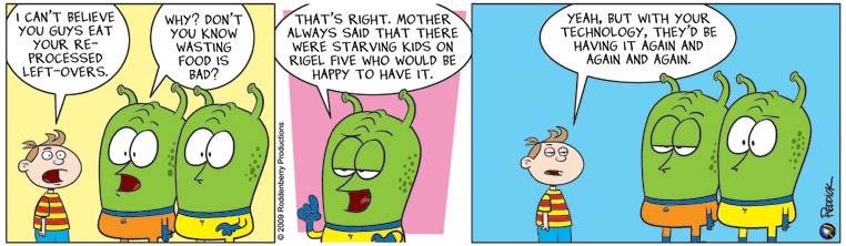 Strip 98: Don't Waste Food