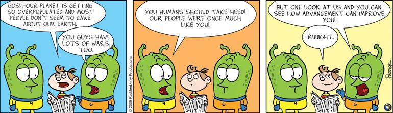 Strip 101: Human Advancement