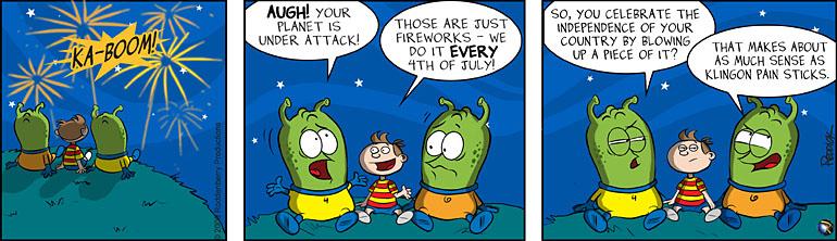 Strip 115: Under Attack