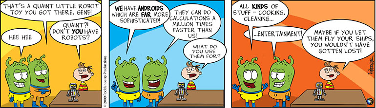 Strip 116: My Android vs Your Robot