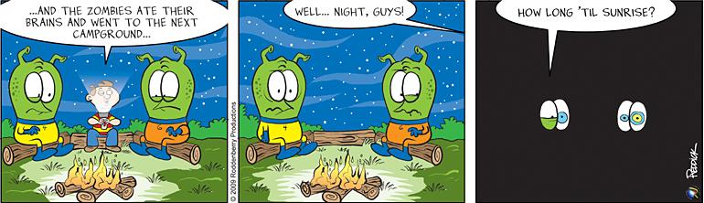 Strip 120: Campground After Dark