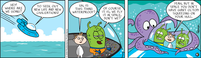 Strip 125: 10 Leagues Under the Sea