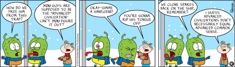 Strip 170: Gene's Xmas Story Pt 2