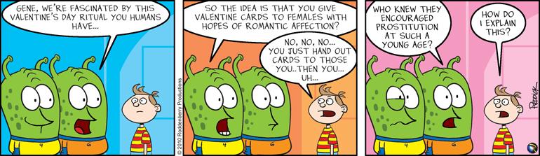 Strip 177: Valentine's Ritual