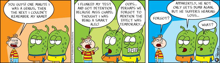 Strip 196: Temporary Smarts
