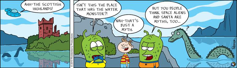 Strip 218: Loch Ness Myth