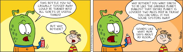Strip 256: Planet Junkos