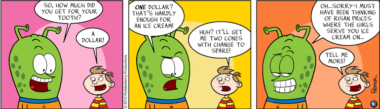 Strip 267: How Much for a Tooth?