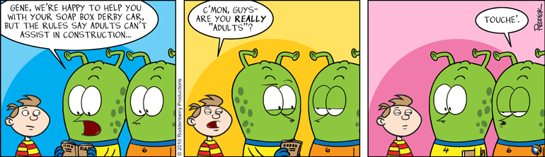 Strip 274: Not Adults