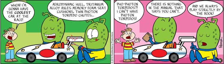 Strip 275: Photon Torpedos