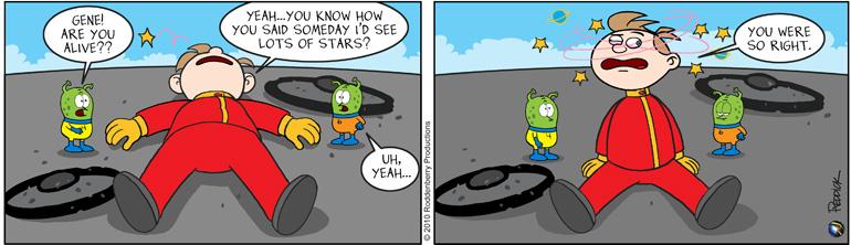 Strip 282: Seeing Stars
