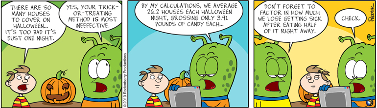 Strip 284: By My Calculations