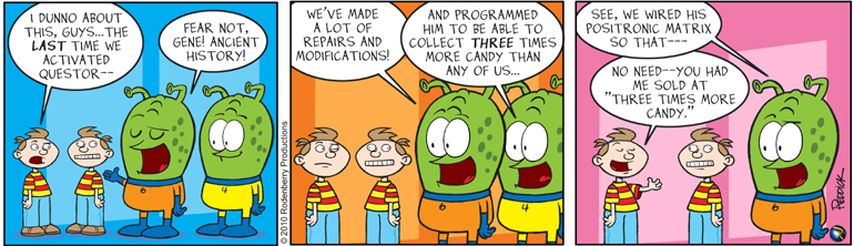 Strip 285: He's Back