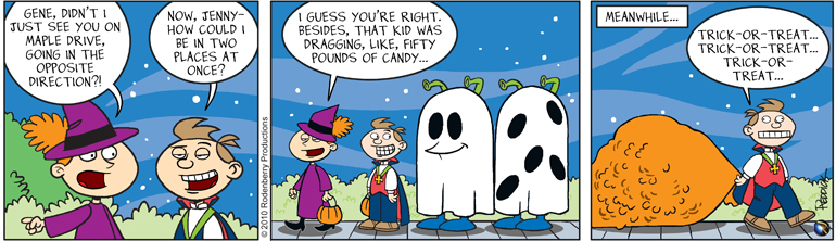 Strip 287: 50 Lbs of Candy