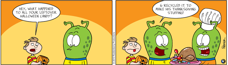Strip 291: Leftover Candy