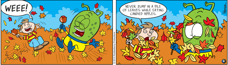 Strip 294: Apples & Leaves Don't Mix