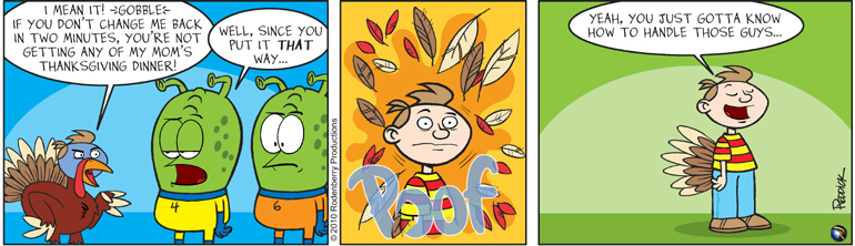 Strip 297: Turkey In Charge
