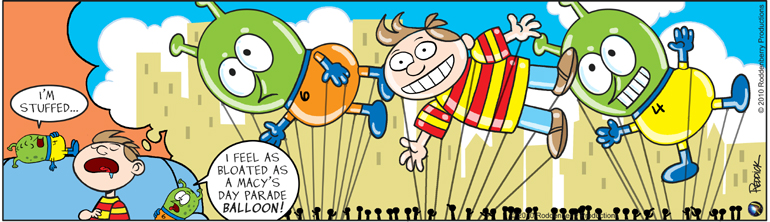 Strip 298: Macy's Day Balloon