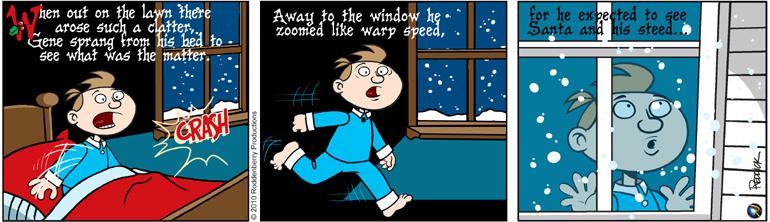 Strip 302: Santa Coming