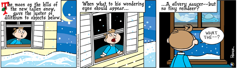 Strip 303: Santa's Saucer