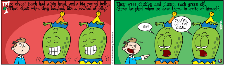 Strip 307: Fat Elves
