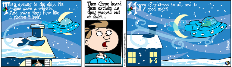Strip 310: Merry Christmas