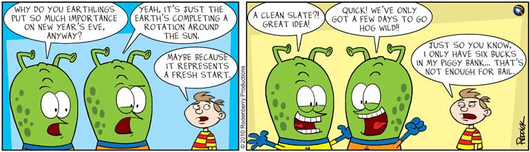 Strip 312: A Fresh Start
