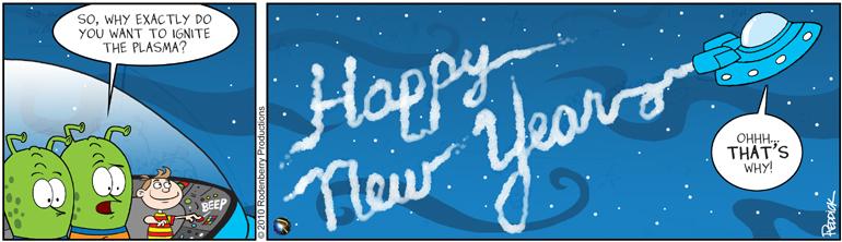 Strip 313: Happy New Year