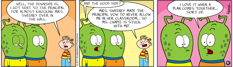 Strip 330: Plan Coming Together
