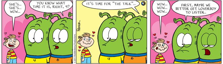 Strip 338: The Talk