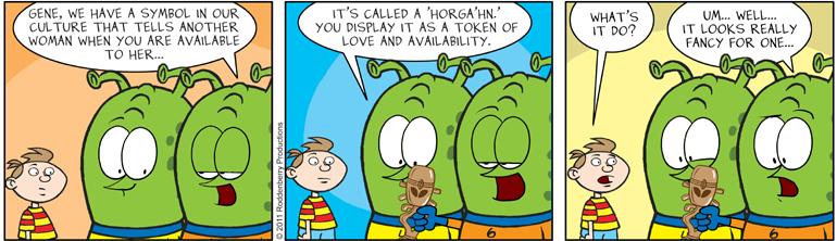 Strip 340: Horga'hn