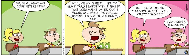 Strip 346: Crazy Stories
