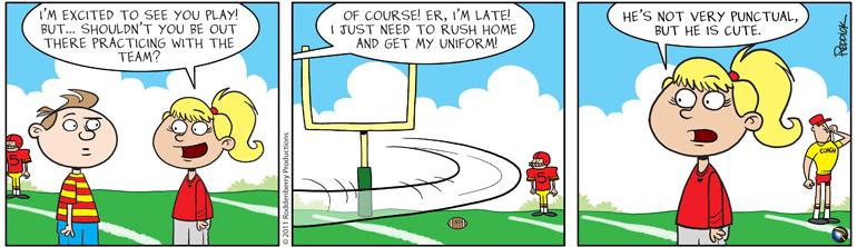 Strip 349: Punctual