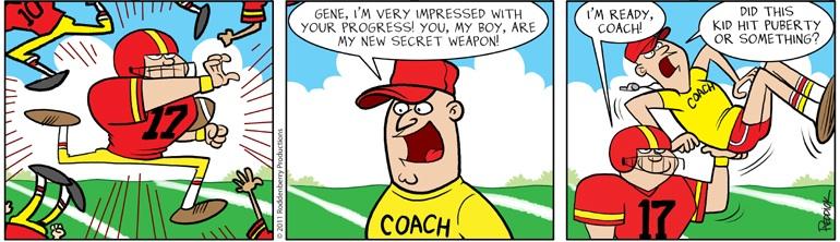 Strip 367: Secret Weapon