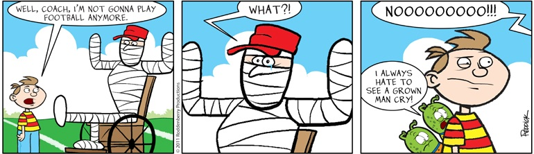 Strip 378: Off of Football