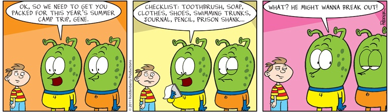 Strip 384: Shank