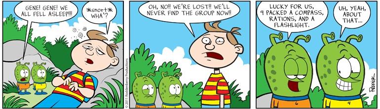 Strip 399: Lost Group