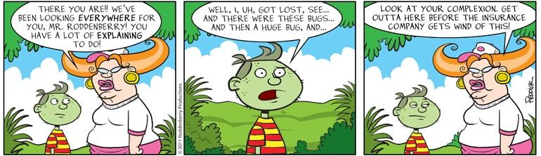 Strip 409: Explaining to Do