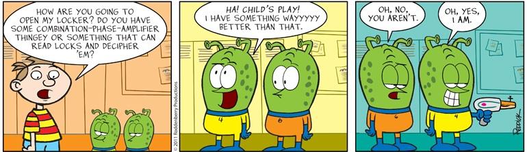 Strip 415: Child's Play