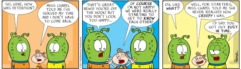 Strip 422: Creepy